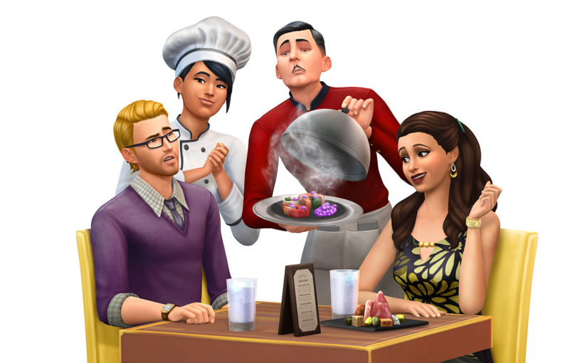 Manage a Restaurant in The Sims 4 Dine Out Game Pack