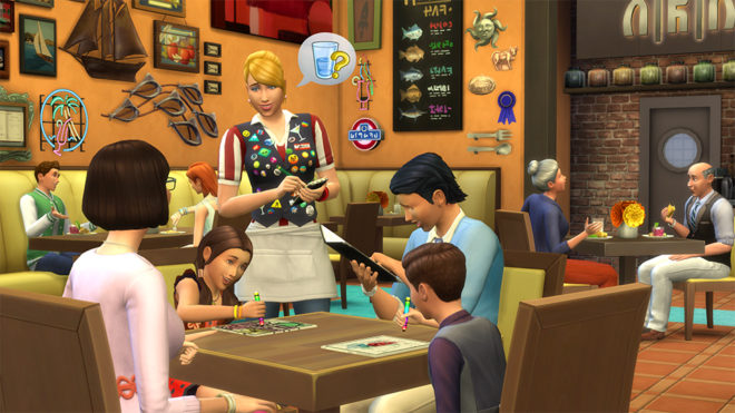 Sims 4 Dine Out Restaurant