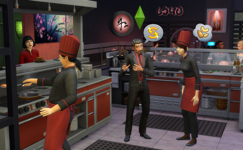 The Sims 4 Dine Out Asian Style
