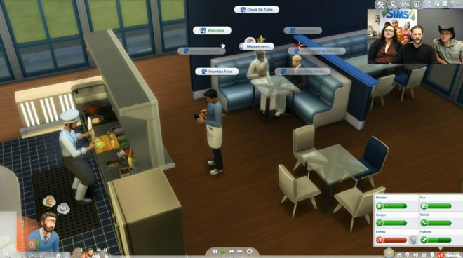 Customer Talk Sims 4