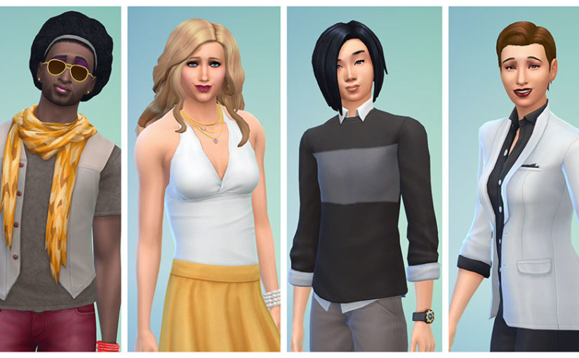 Sims 4 Introduces Gender Fluidity to Create-a-Sim