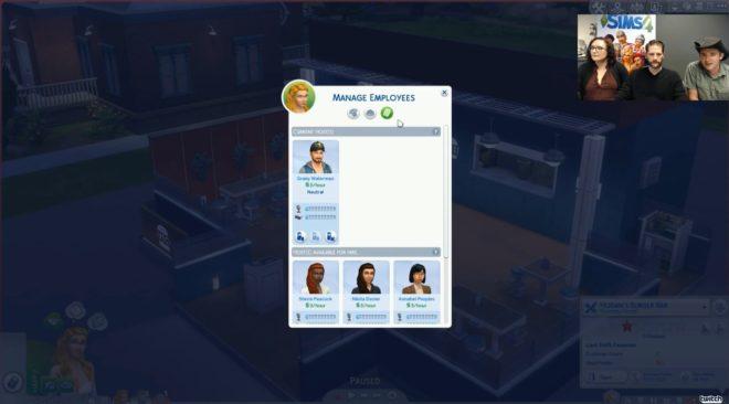 Restaurant Employee Sims 4