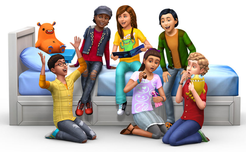 Collect Trading Cards in The Sims 4 Kids Room Stuff!