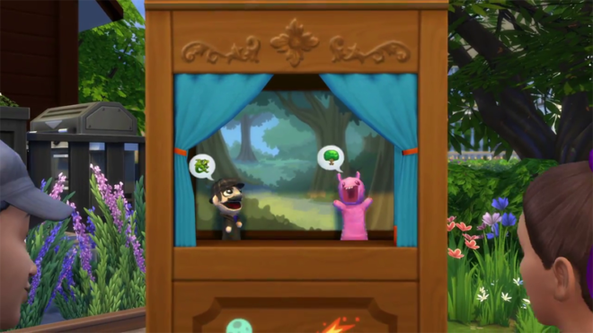 Sims 4 Kids Stuff Puppet Theater