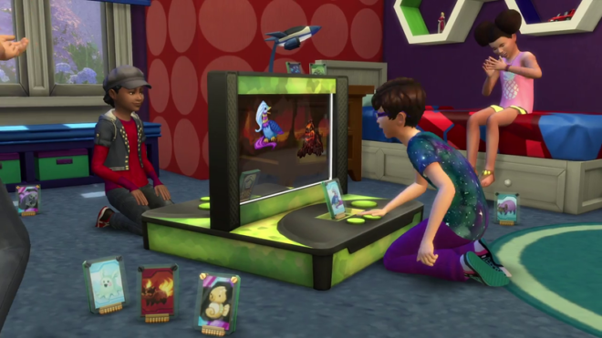 Sims 4 Kids Stuff Voidcritter Battle Station