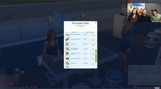Sims 4 Perks