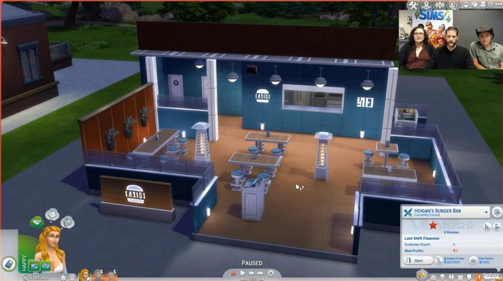 Sims  Build Mode Second Floor
