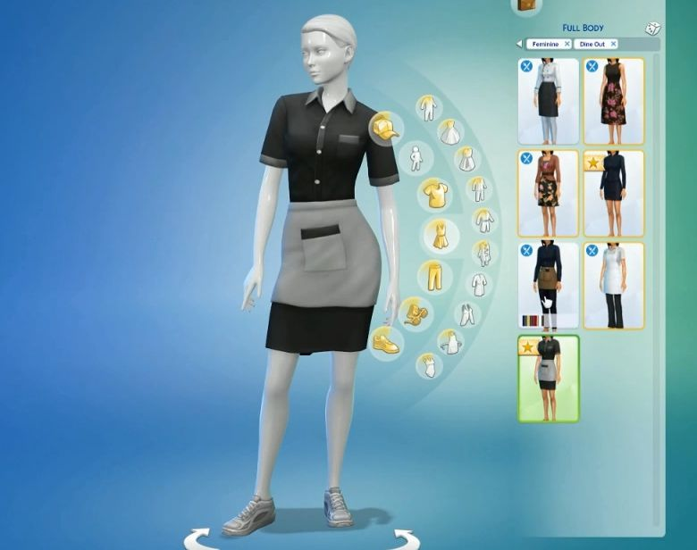 sims 4 how to put cc in restorants