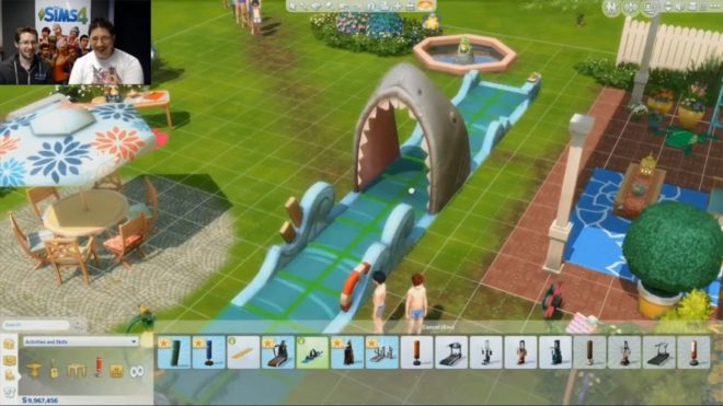 Jaws of Death Sims 4