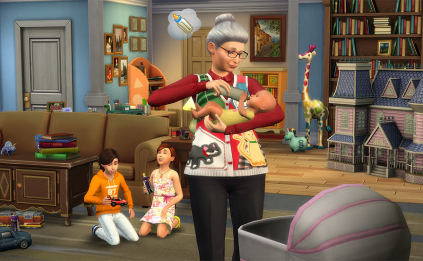 Sims 4 Adds The Nanny