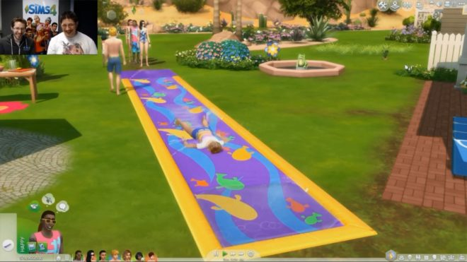 Water Slide Sims 4