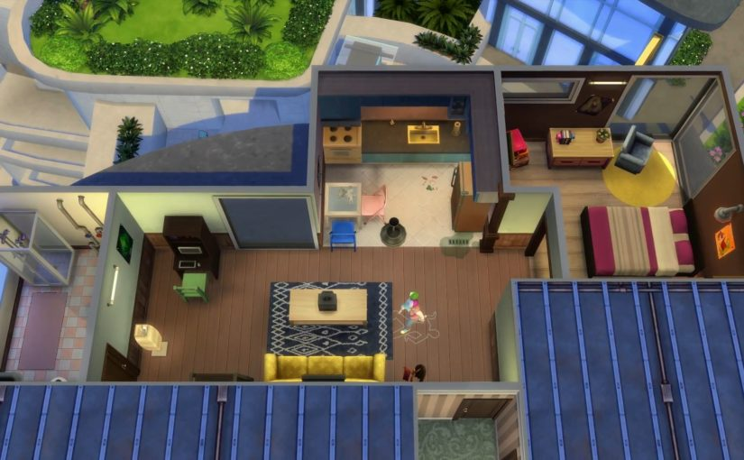 Sims 4: City Living: Apartment Units and Objects