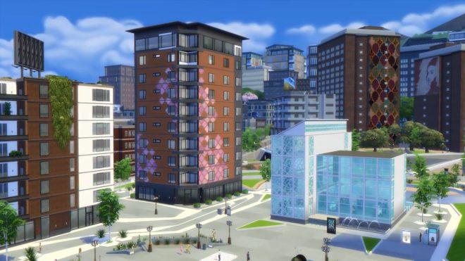 Arts Quarter, Sims 4 City Living