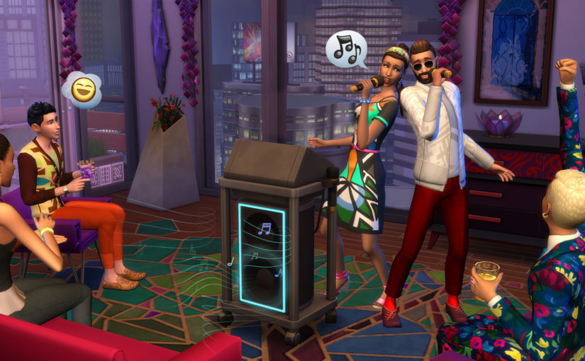 The Sims 4: City Living Adds Apartments, Karaoke, and Festivals