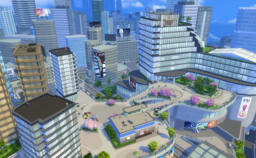 The Neighborhoods of San Myshuno: The Sims 4 City Living