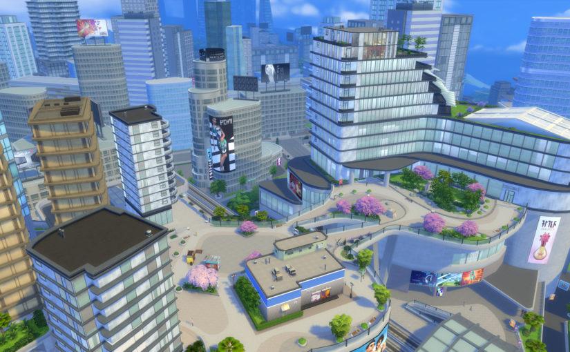 The Neighborhoods of San Myshuno: The Sims 4 City Living