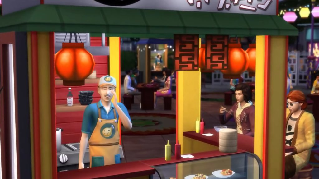 Food Cart Sims 4 Simcitizens