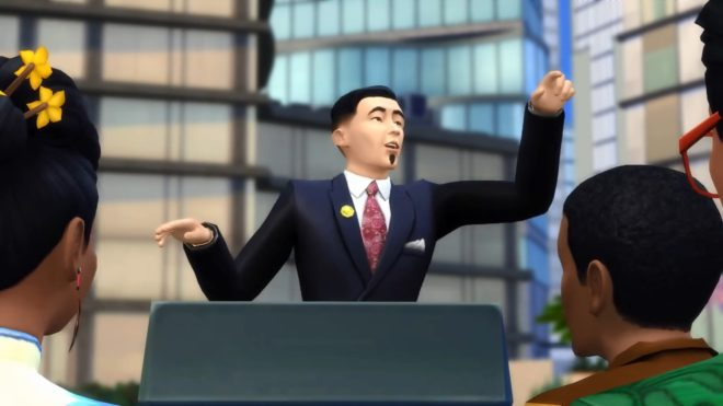 Politician Career Sims 4