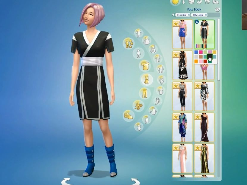 City Living's New Clothing, Hairstyles, and Aspiration