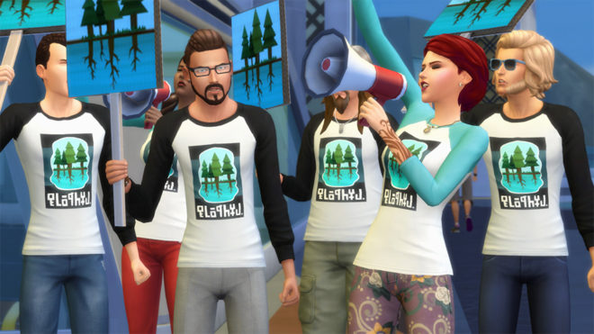 Sims 4 Activists
