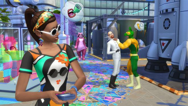 Social Media Craeer Sims 4
