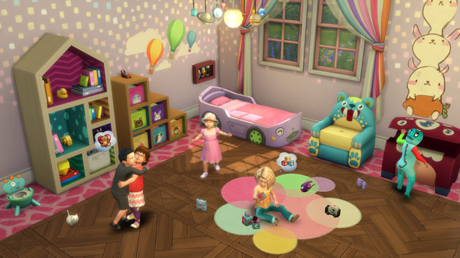 Toddlers Sims 4 Room