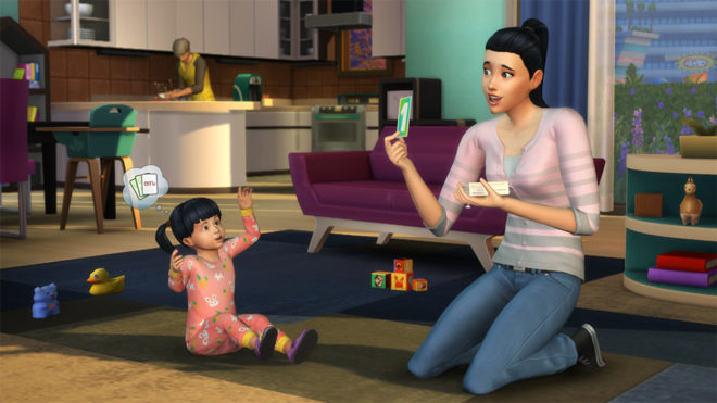 Toddlers Skills Sims 4